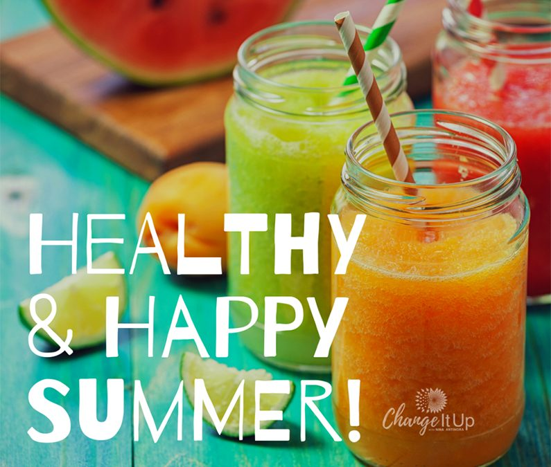 5 Mindful Tips for a Healthy and Happy Summer!